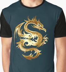 Golden Dragon Graphic T-Shirt