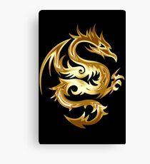 Golden Dragon Canvas Print
