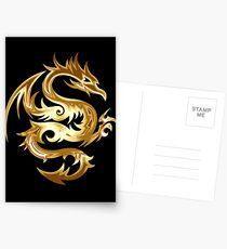 Golden Dragon Postcards