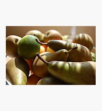 Fruitful Harvest Photographic Print