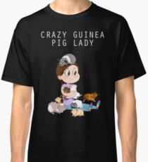 Crazy Guinea Pig Lady (on my own terms) Classic T-Shirt