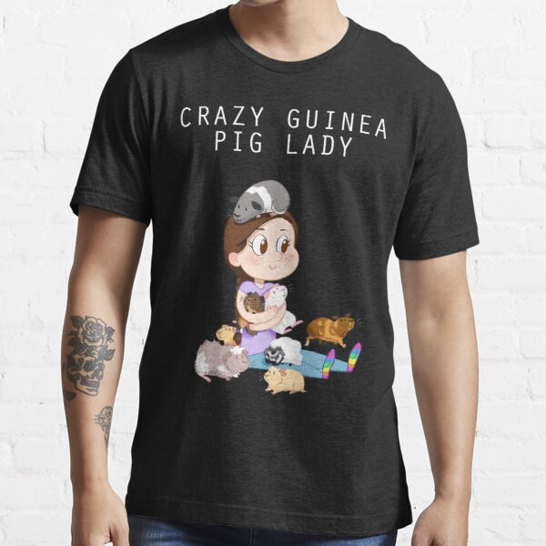 Crazy Guinea Pig Lady (on my own terms) Essential T-Shirt
