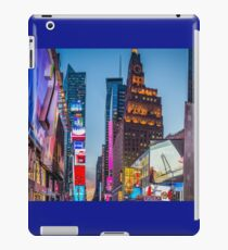 HDR Times Square, New York iPad Case/Skin