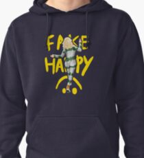 fake happy Pullover Hoodie