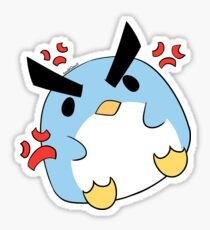 Angry Penguin Sticker