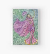 Spring Flower Nymph Hardcover Journal
