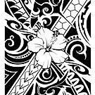 Hawaiian style tribal 2 by TurkeysDesign