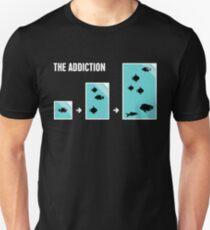 Funny Fish Aquarium Addiction Unisex T-Shirt