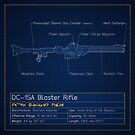 DC-15A Blaster Rifle Blueprint by nothinguntried