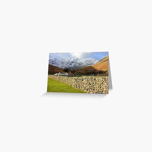 Dry Stone Wall at Wasdale Greeting Card