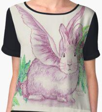 Winged Runaway Bunny Chiffon Top