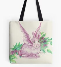 Winged Runaway Bunny Tote Bag