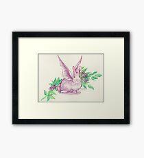 Winged Runaway Bunny Framed Print