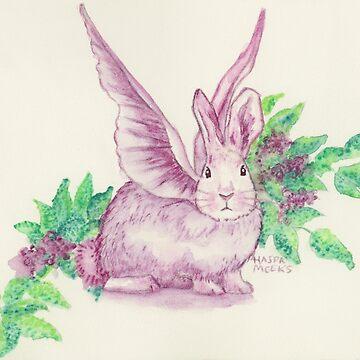 Winged Runaway Bunny by HajraMeeks