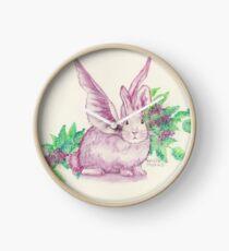 Winged Runaway Bunny Clock