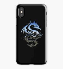 Metal Blue Dragon iPhone Case/Skin