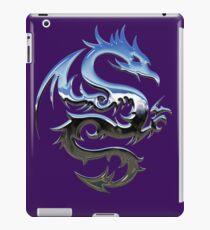 Metal Blue Dragon iPad Case/Skin