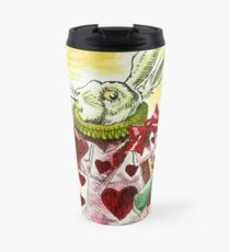 Alice's White Rabbit Travel Mug