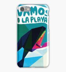 ¡VAMOS A LA PLAYA! iPhone Case/Skin
