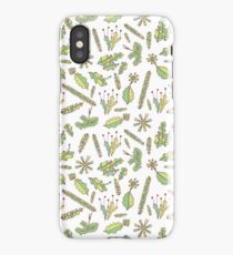 Forest moss seamless pattern iPhone Case/Skin
