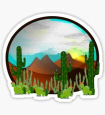 Desert Sanctuary Sticker