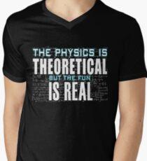 Physics Is Fun Geek Men's V-Neck T-Shirt