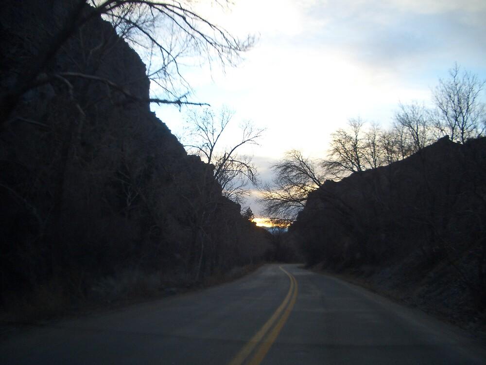 Canyon Driving in Utah by Lotokids