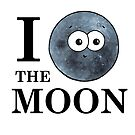 I Heart The Moon by Adrienne Body