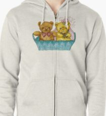 A Beary Nice Wedding Zipped Hoodie