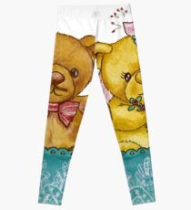 A Beary Nice Wedding Leggings
