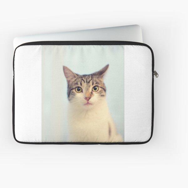 Kitty Cat Portrait Laptop Sleeve