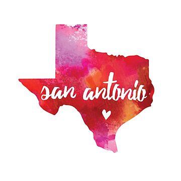 San Antonio, Texas by gracehertlein