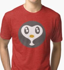 Cute Baby Penguin Ball Tri-blend T-Shirt
