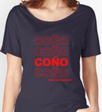 Camiseta ancha Coño