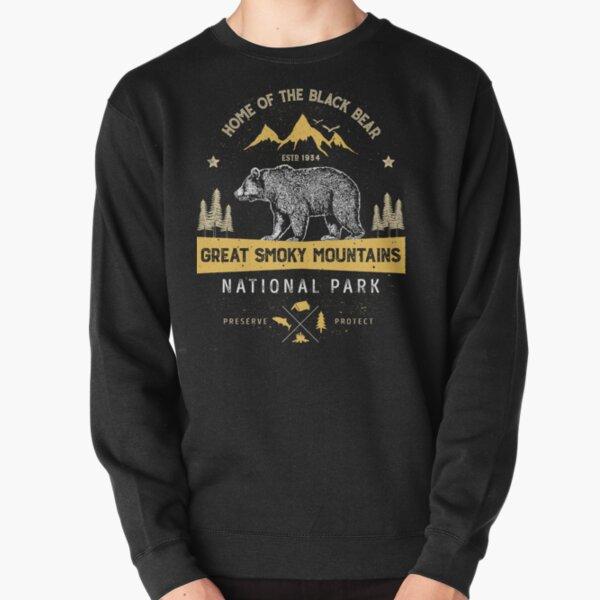Great Smoky Mountains National Park Shirt Bear Vintage Gift Ideas T-shirt Pullover Sweatshirt