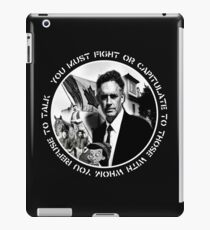 Jordan Peterson - Undiscovered Country  iPad Case/Skin