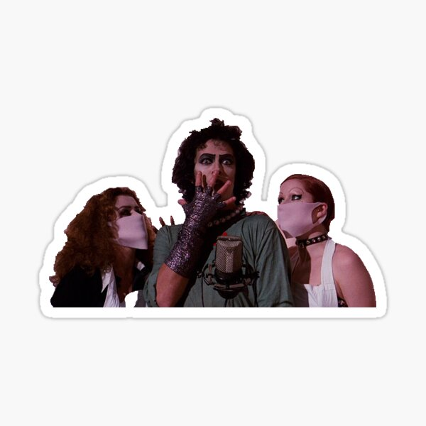 "rocky horror picture show - ""that SPARK!"" Sticker"