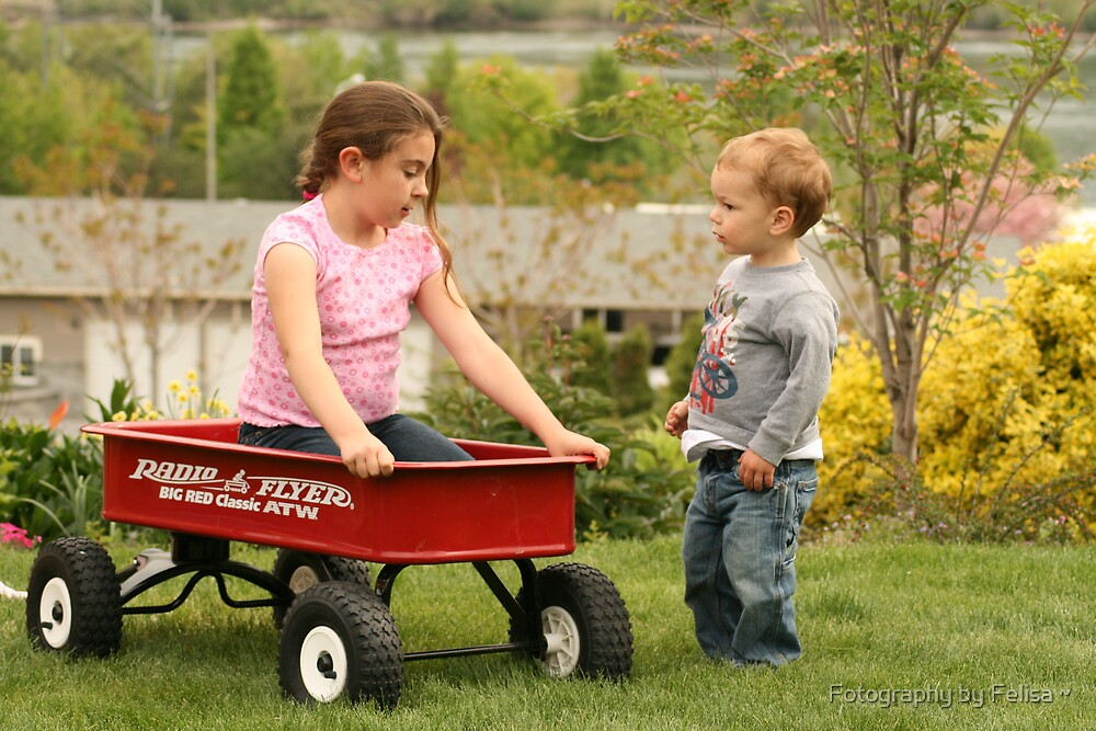Radio Flyer Time by Fotography by Felisa ~