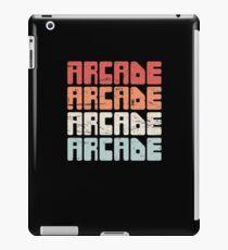 Retro 70s ARCADE Text iPad Case/Skin