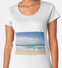 Ironwoods Beach, Maui Women's Premium T-Shirt