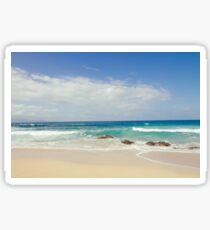 Ironwoods Beach, Maui Sticker