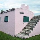Pink Bahamas Jail, Green Turtle Cay by Catherine Sherman