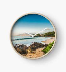Secret Beach Maui Clock