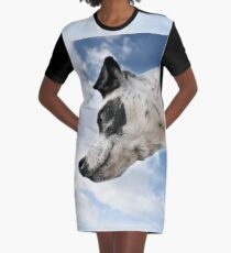 Head and Shoulders Above The Rest.  Graphic T-Shirt Dress