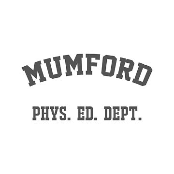 Mumford Phys Ed Dep by Magbees