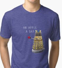 An Apple a Day Keeps the Doctor Away Tri-blend T-Shirt