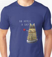 Ein Apfel pro Tag hält den Doktor fern Slim Fit T-Shirt