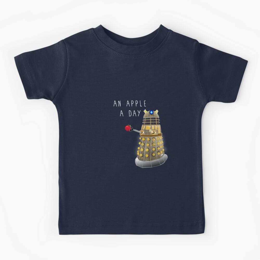 An Apple a Day Keeps the Doctor Away Kids T-Shirt
