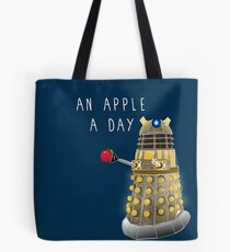 An Apple a Day Keeps the Doctor Away Tote Bag