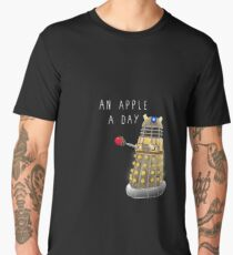 An Apple a Day Keeps the Doctor Away Men's Premium T-Shirt